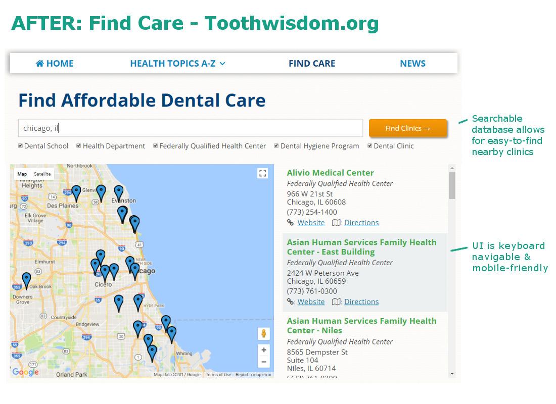 Toothwisdom org care